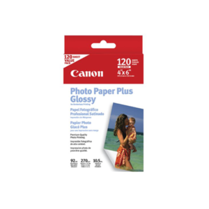 Canon Inkjet Media Photo Paper Plus Glossy II PP-201 4x6 20L